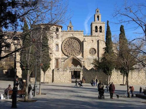 Monasterio de Sant Cugat, Barcelona (España).