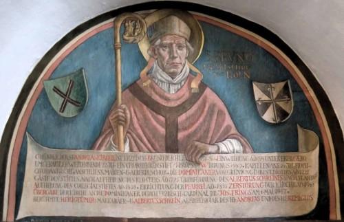 Mural en la Iglesia de San Andrés, en Colonia (Alemania).