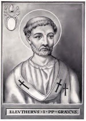 San Eleuterio papa. Chevalier Artaud de Montor, Nueva York (USA).