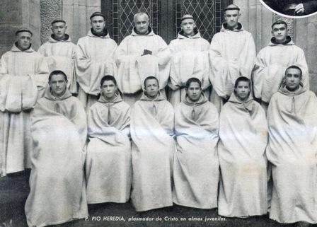 Mártires de Viaceli en 1936.