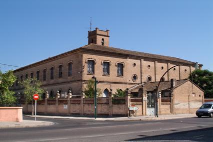 Vista del monasterio de Fons Salutis, hogar y prisión de las mártires. Algemesí, Valencia (España).