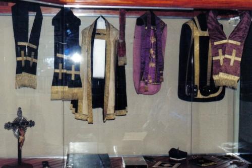 Ornamentos utilizados por el Beato.