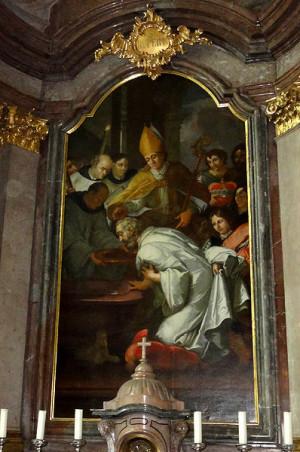 San Ruperto bautiza a Theodo.