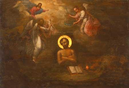 Icono de San Juan el gran sufridor.