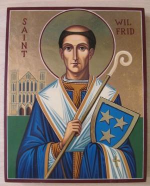 Icono contemporáneo del Santo.