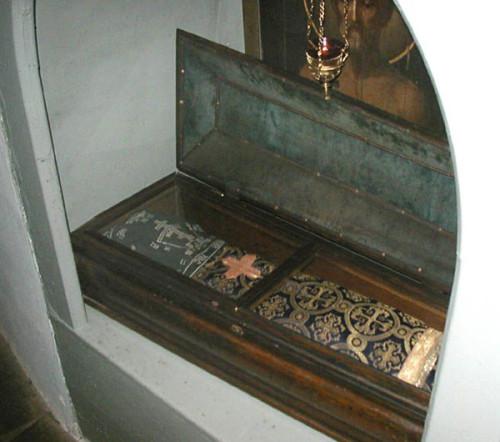 Tumba de San Juan el gran sufridor.