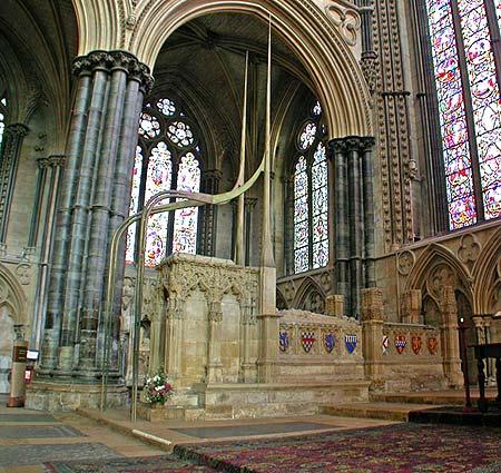 Sepulcro del Santo. Catedral de Lincoln, Inglaterra.