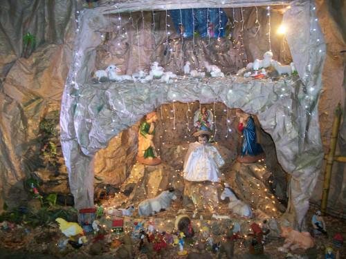 Levantar el nacimiento el 2 de febrero es tradicional en el sureste mexicano.