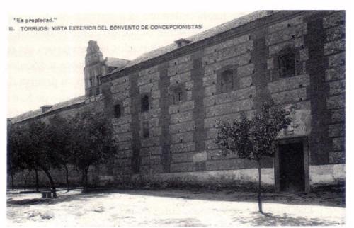 Antiguo convento concepcionista, hoy Ayuntamiento.
