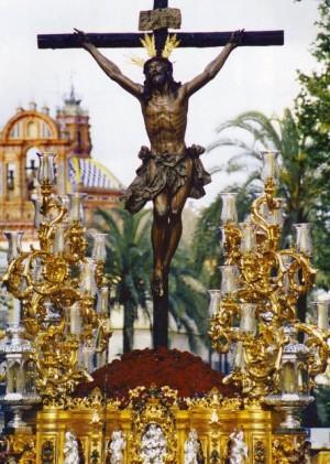 Cristo de la Expiración (el Cachorro). Semana Santa de  Sevilla, España.