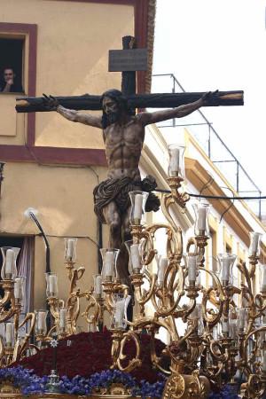 Crucificado de la Hermandad de La Sed, Sevilla (España).