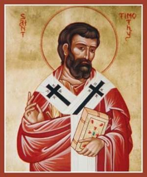 Icono ortodoxo del Santo.