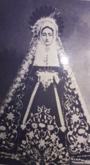 Foto de la Virgen antes de la Coronación Pontificia.