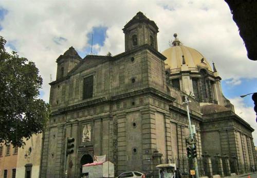 Santuario de Loreto, Centro Histórico de la Ciudad de México.