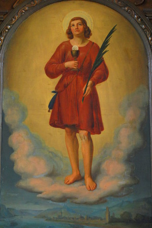 Lienzo de San Werner de Oberwesel.