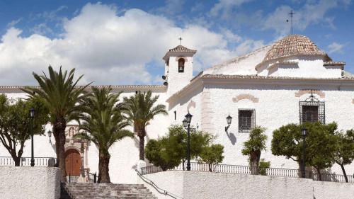 Santuario de la Virgen de las Virtudes, Villena, Alacant (España).