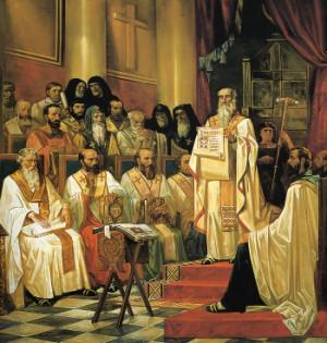 Concilio Ecuménico de Constantinopla.