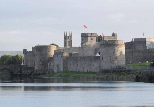 KIng John's Castle en Limerick, Irlanda, lugar donde fue capturado el Beato.