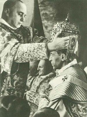 Coronación de Pío XII.
