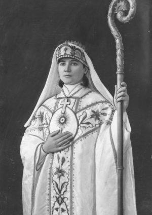 Santa Antonia María Isabel Wiłucka, obispa de la Iglesia Mariavita.