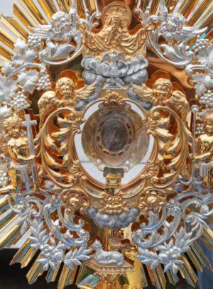 Imagen original de Nuestra Señora de Coromoto según la tradición milagrosamente estampada.