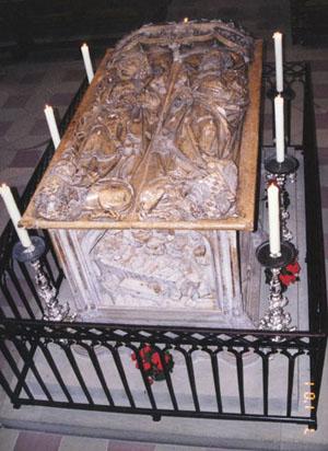 Sepulcro de los Santos Enrique y Cunegunda. Catedral de Bamberg (Alemania).