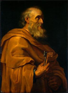 Óleo del Santo por Pedro Pablo Rubens (s.XVII).