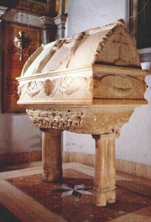 Sepulcro de Santa Victoria en Monte Mategnano, Italia.