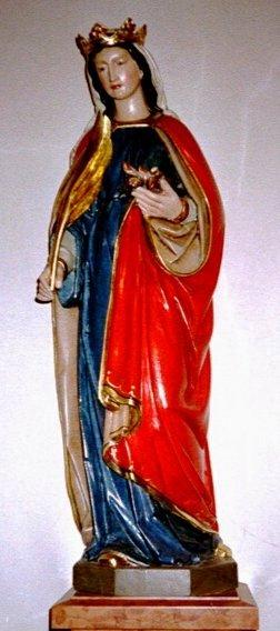 Imagen de Santa Emérita, mártir romana, de procedencia desconocida.