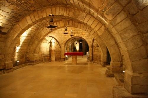 Cripta de San Antolín, en Palencia (España).