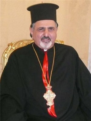 Su Beatitud Mar Ignatius Ephrem Joseph III Younan, patriarca de la Iglesia Católica de Rito Sirio Antioqueno.