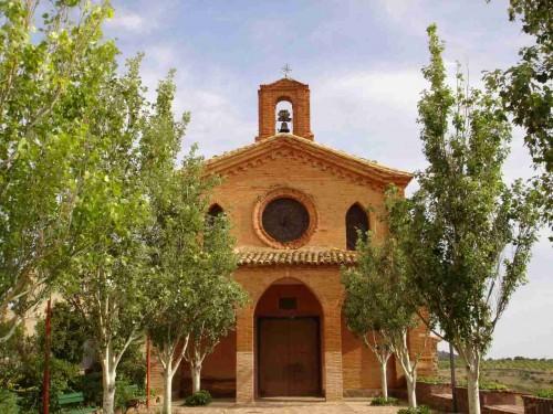 Vista de la Ermita del Niño Perdido, en Tabuenca. Patria natal de los Beatos Tomás y José María Cuartero Gascón.