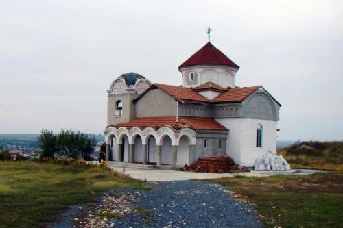 Iglesia dedicada a San Teótimo en Murfatlar, Rumanía. Fuente: geografilia.blogspot.com