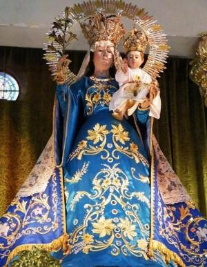 Nuestra Señora del Socorro, de Morelia, Michoacán, imagen de la que el beato Elías era muy devoto y en honora quién se cambio el nombre. Foto cortesía de Tacho de Santa María.