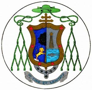 Escudo episcopal del Ob. Fco Orozco y Jiménez (Recopilación de fotos Diac. Francesco Lay).