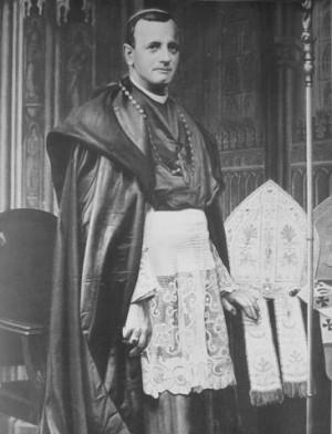 Lienzo-retrato del Siervo de Dios ya como Arzobispo de Guadalajara.
