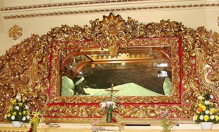 Señor del Sacromonte, en honora quién se celebró la representación mas antigua del Vía Crucis en Amecameca, Estado de México.