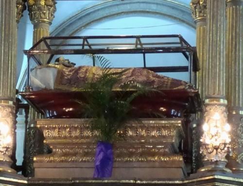 Señor de la Cuevita, patrón de Iztapalapa en honor a quién se realiza el Vía Crucis más famoso de México.