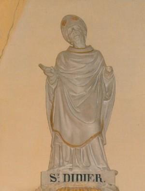 Estatua de San Desiderio (Didier) de Vienne.