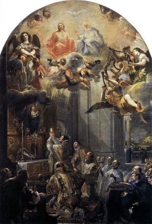 Misa de San Juan de Mata. Obra de Juan Carrero de Miranda (1666).