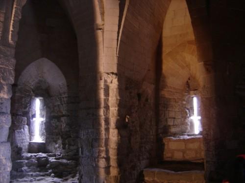 Vista de la celda donde el Santo estuvo prisionero. Torre de Londres, Reino Unido.