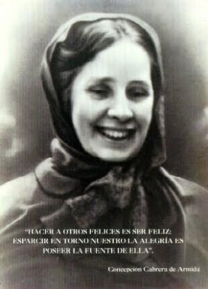 Fotografía de la Venerable Concepción Cabrera.