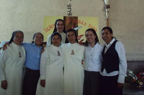 Fotografía actual de las Hijas del Espíritu Santo, Congregación fundada por la Sierva de Dios.