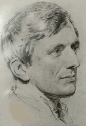 Boceto-retrato del Beato cuando tenía 23 años.