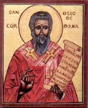 Icono ortodoxo español del Santo.