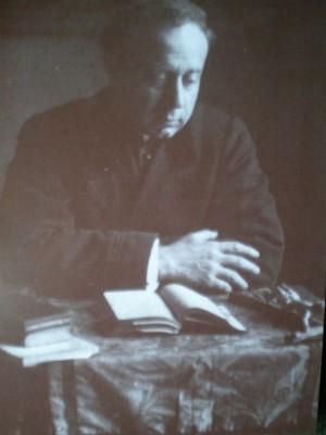 El Santo fotografiado durante su estancia en Madrid.