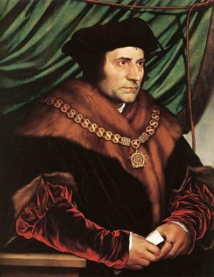 Retrato del Santo, obra de Hans Holbein el Joven (1527). Frick Collection, Nueva York (Estados Unidos).