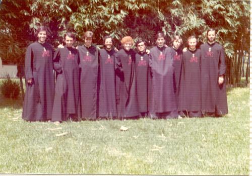 Otra fotografía de los Misioneros del Espíritu Santo, fundados por la Venerable Concepción Cabrera.