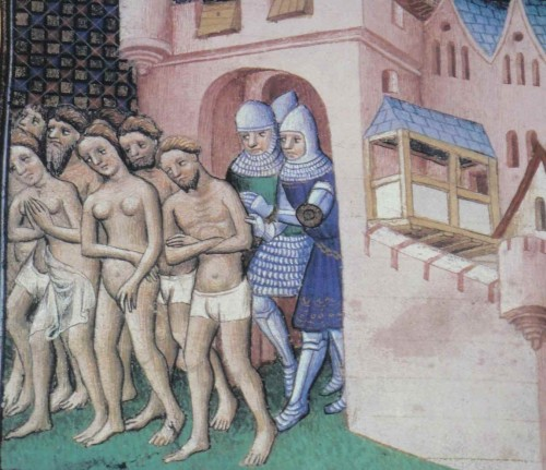 Los cátaros son expulsados de Carcassonne en el año 1209.