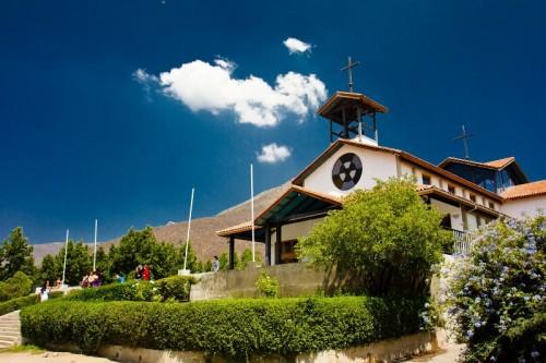 Santuario de Santa Teresa de los Andes en Auco, los Andes (Chile).